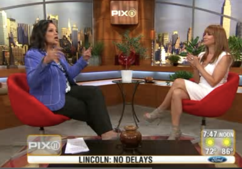Jill Zarin on WPIX Morning Show