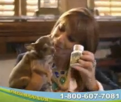 Watch Jill Zarin On Omega Dog Infomercial