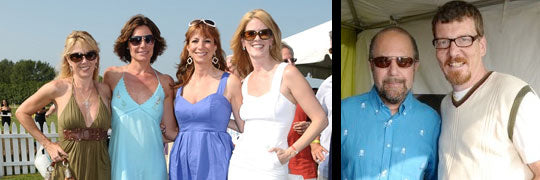 Housewives Attend Bridgehampton Polo