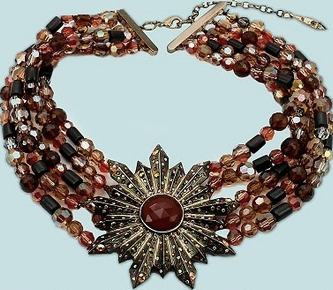 Bid On Jill Zarin's Carolina Amato Necklace As Seen On RHONY Reunion At Charity Buzz