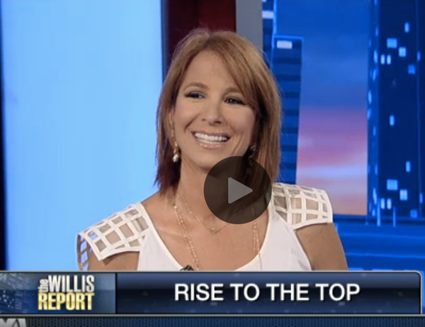 Jill Zarin On The Willis Report/Fox Business 7/16/2014
