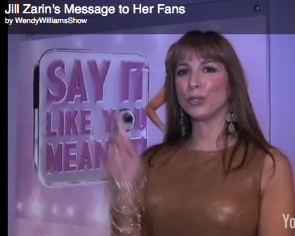 Jill Zarin's Message To Fans From Wendy Williams Show