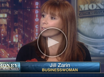 "Jill Zarin On Fox Business News ""Money With Melissa Francis"" 12/16/13"