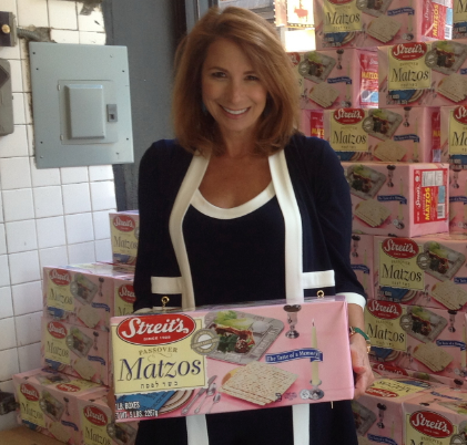 JILL ZARIN BRINGS PEOPLE BACK TO JEWISH ROOTS WITH STREIT'S