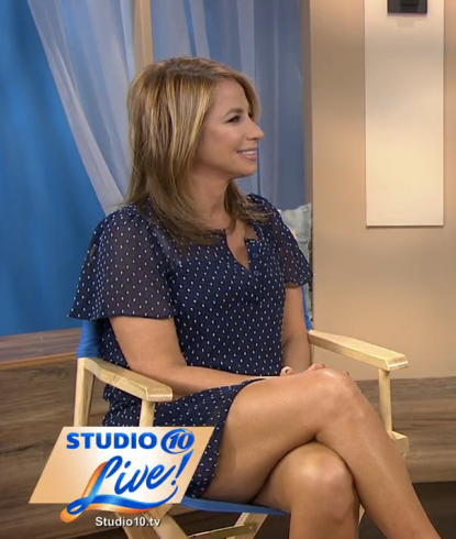 Jill Zarin On 10 News Tampa October, 2015