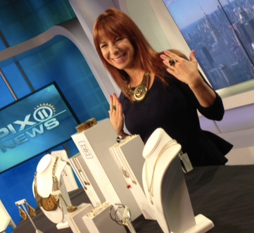 Jill Zarin on WPIX Talks Jewelry & Bravo (10/16/12)