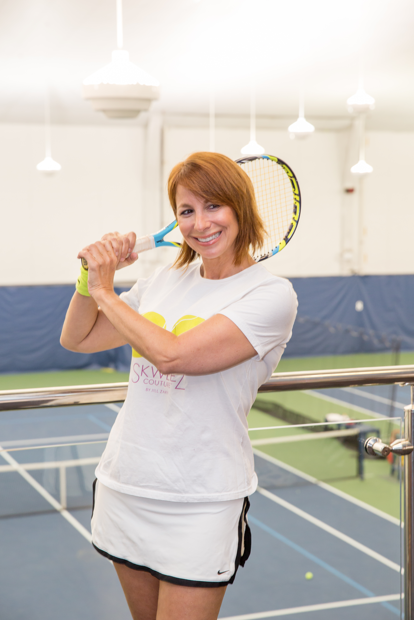 Jill Zarin Plays For Chance To Be In The US Open
