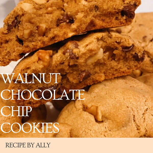 Ally's Walnut Chocolate Chip Cookies!
