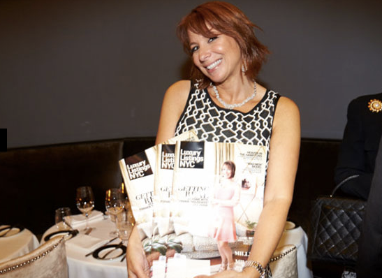 Luxury Listings NYC celebrates its summer-issue soirée at Beautique featuring cover star Jill Zarin