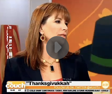 "Jill Zarin On CBS New York ""The Couch"""
