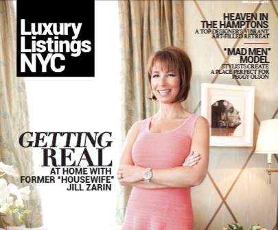 Jill Zarin Cover Story Luxury Listings NYC