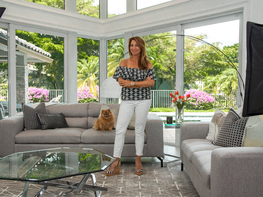 Jill Zarin Rugs- featuring Fifth Avenue Style Rug