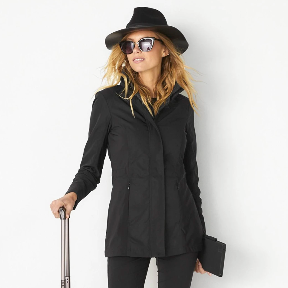 ANATOMIE TRAVEL CITY SLICK JACKET