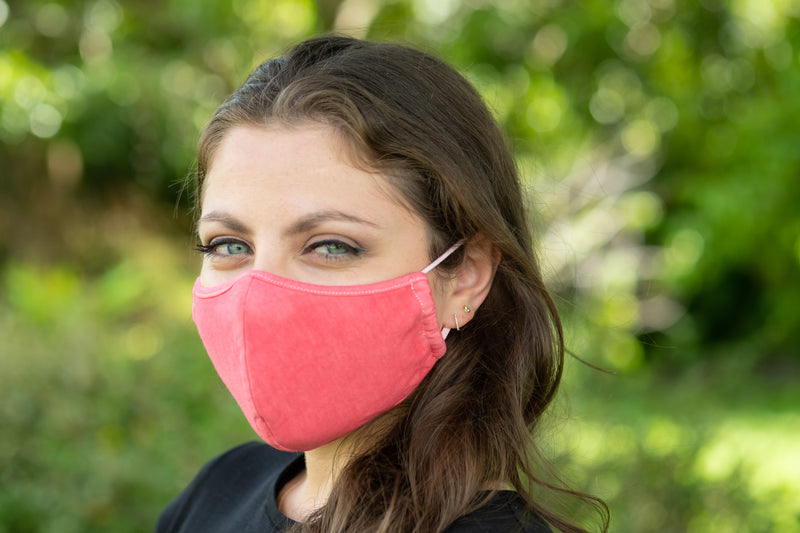 Racing Red Fashion Face Mask