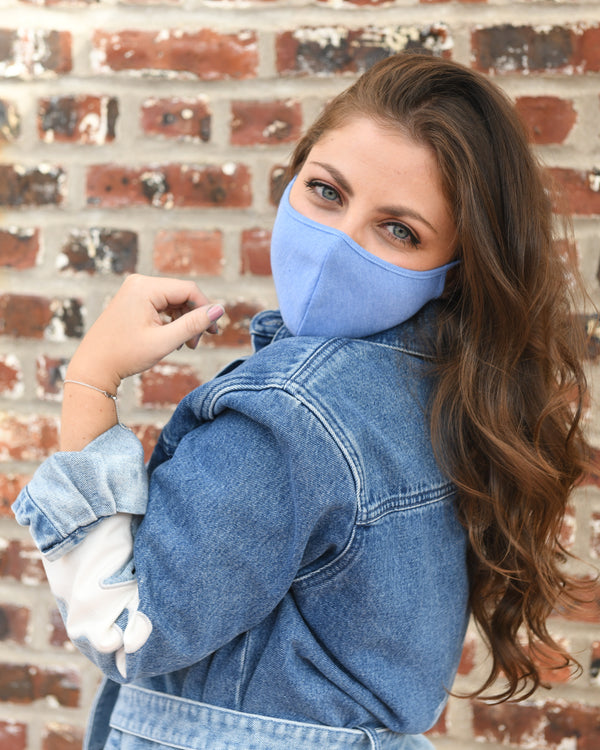 Royal Blue Fashion Face Mask