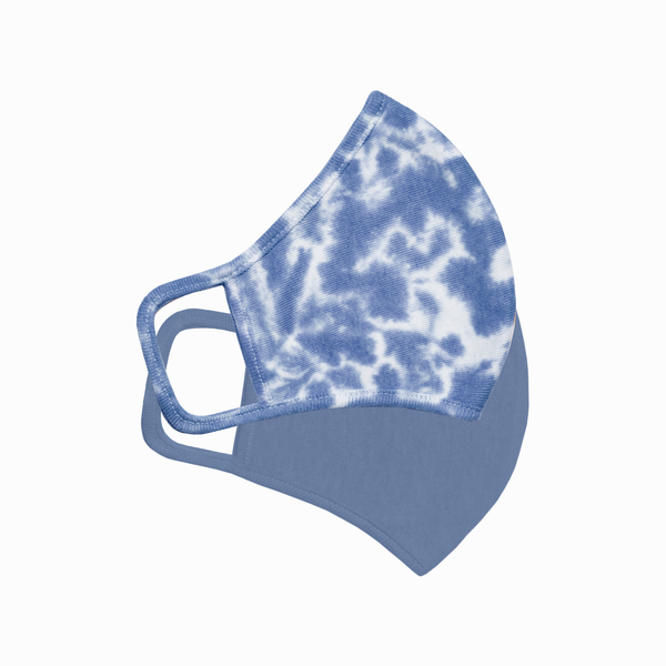 Blueberry Pie Tie-Dye Face Masks, Set of 2 (Value of $47)