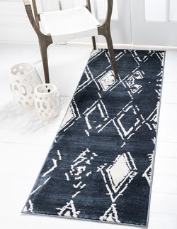 carnegie hill navy blue indoor rug