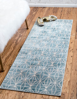 fifth avenue turquoise indoor rug