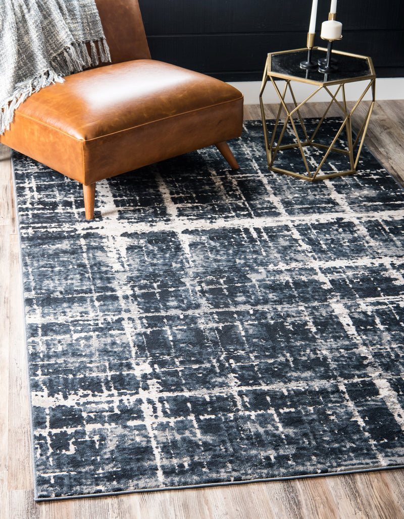 lexington avenue navy blue indoor rug