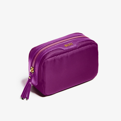 magenta mask bag or makeup pouch