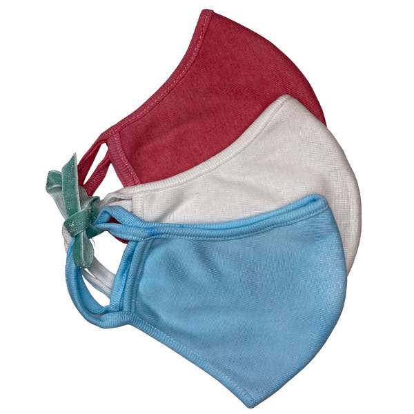 Red, White and Blue Fashion Face Masks