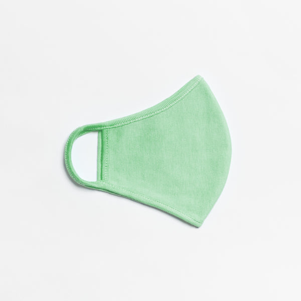 Peacock Green Fashion Face Mask