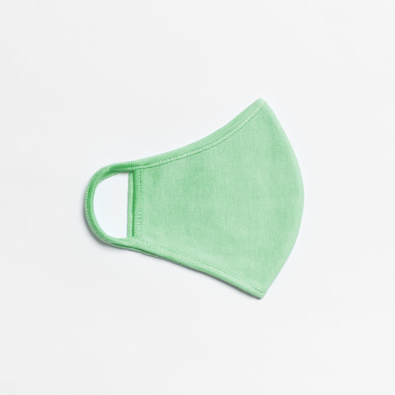 peacock green face mask in 2-ply, 3-ply or adjustable
