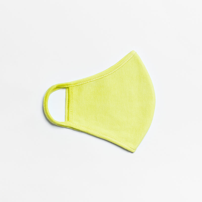 Daffodil Yellow Fashion Face Mask