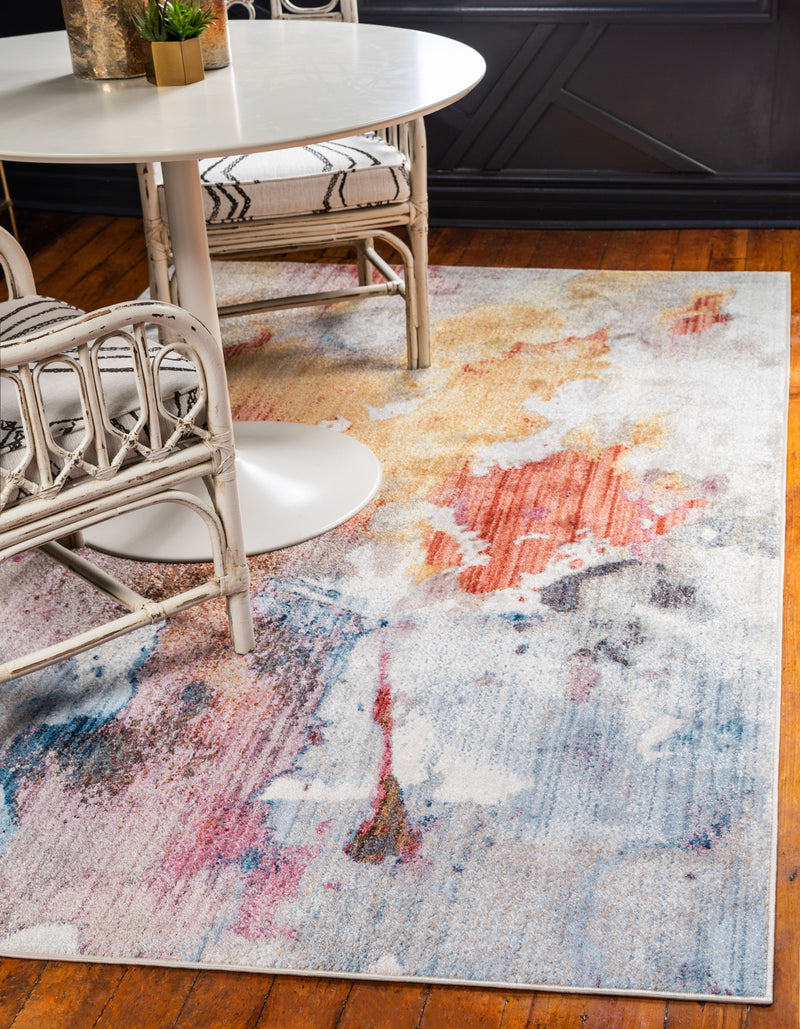 west village multicolor rug