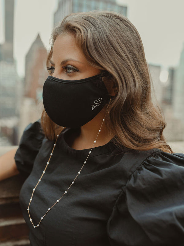 Custom Embroidery Fashion Face Mask