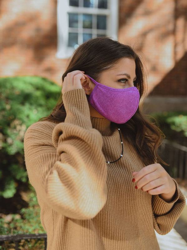 Magenta Fashion Face Mask