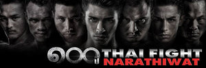 Thai Fight: Narathiwat - Fightcard - 22 Augusti