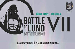 Battle of Lund 7 - Trailer och full fightcard(Uppdaterat)