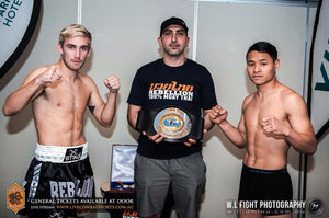 Se Samuel Bark's match från Rebellion Muaythai 10