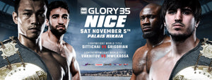 Se fightvideos från Glory 35: NICE [VIDEO & RESULTAT]