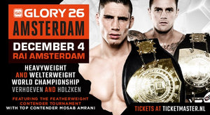 GLORY 26: AMSTERDAM - Fightcard och trailer
