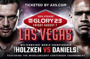 GLORY 23 LAS VEGAS - Fightcard och trailer