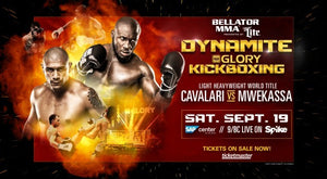 Glory World Series och Bellator i en hybrid-gala den 19e september