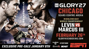 【Fightcard】Glory 27: CHICAGO