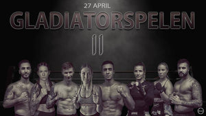 Gladiatorspelen i Skövde den 27e april