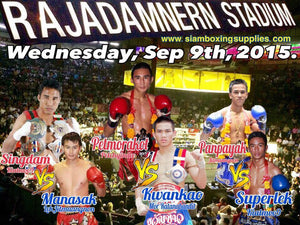 Rajadamnern stadium - 9e september -