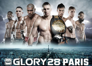 【Resultat & Video】Se resultat och match-video från GLORY28:PARIS
