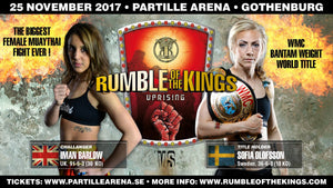 Rumble of the Kings 19: Sofia Olofsson går match