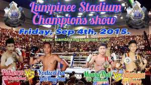 Muay Thai Champions - Lumpinee Stadium - Videos