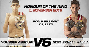 【Nyhet!】Adel Ekvall Halila vs Youssef Assouik på Honour of The Ring