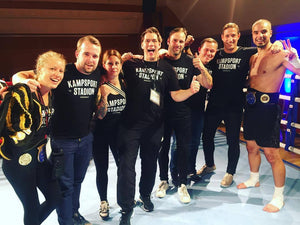 Fight Night Bergen III: Resultat