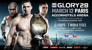 【Fightcard】Glory 28: Paris med hela 3 titelmatcher