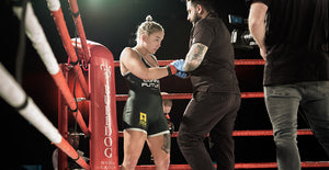 [VIDEO] Cornelia Holm vs Morgane Ribout på Bulldog Media Fight Night 2.0