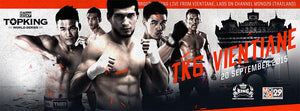 Top King 6 - Vietnam - FIGHTCARD (20 September)