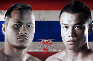Sittichai Sitsongpeenong VS Yodsanklai Fairtex på Kunlun Fight: Final 8